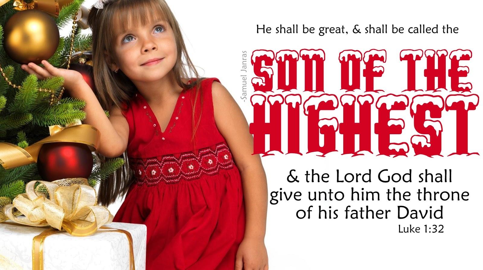christmas greetings bible verse