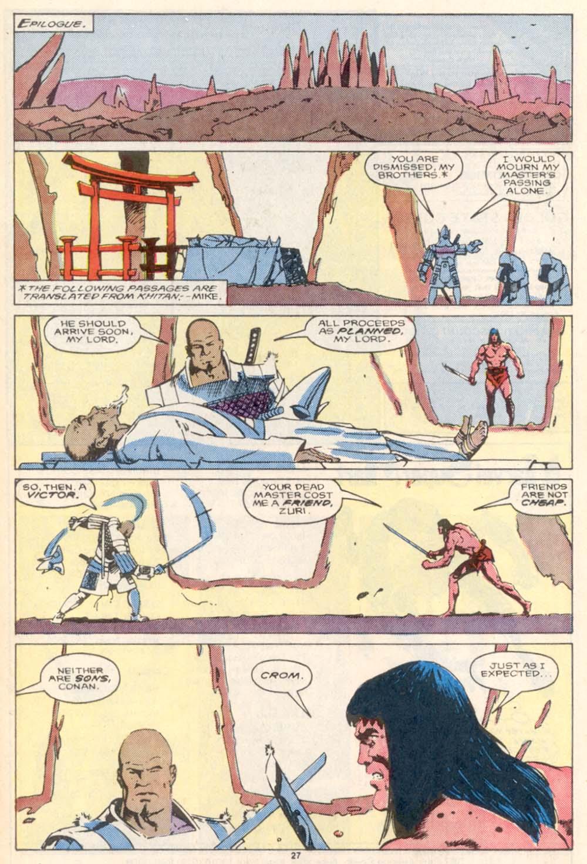 Conan the Barbarian (1970) Issue #208 #220 - English 21