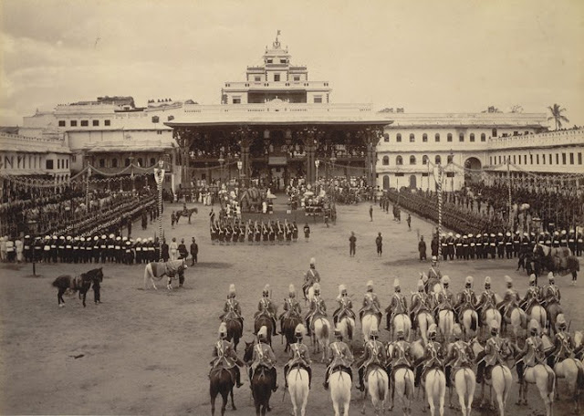 Old Mysore Palace dated 1890
