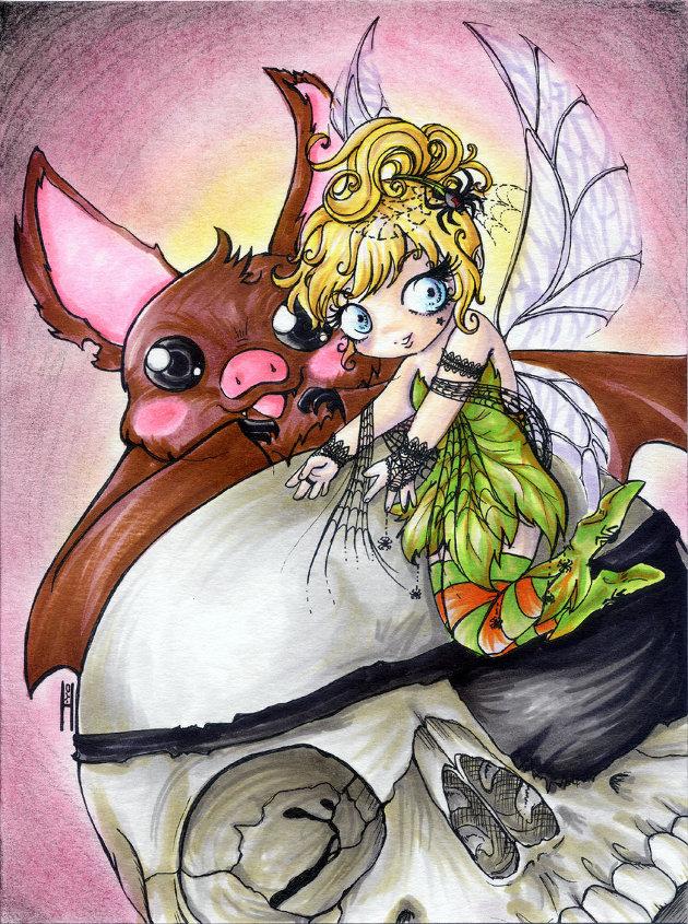 Evil Tinker Bell por Ichancita
