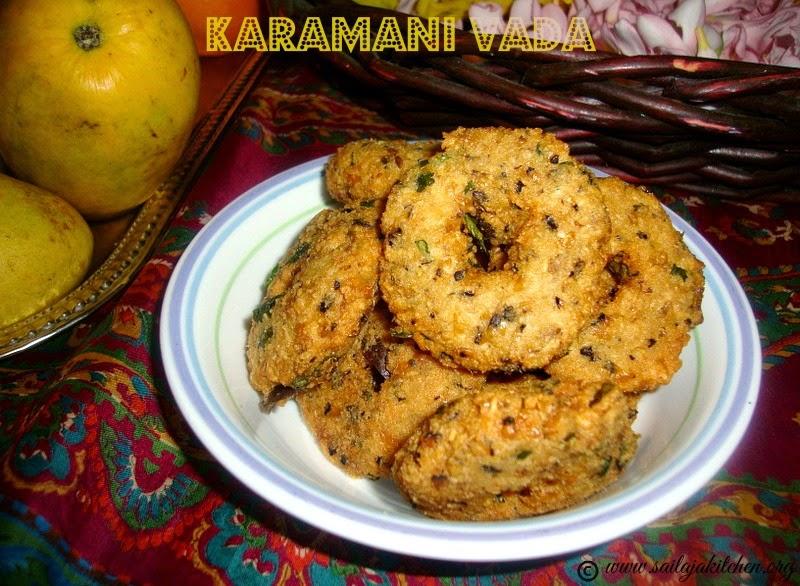 Karamani Vada Recipe / Bobbarlu Vadalu Recipe /Alasanda Vada / Black Eyed Peas Fritters / Lobia Vada