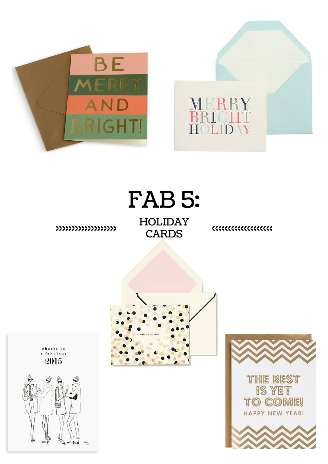Project Soiree, Fab 5, Holiday Cards
