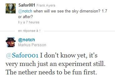 Minecraft 1.7 Sky Dimension