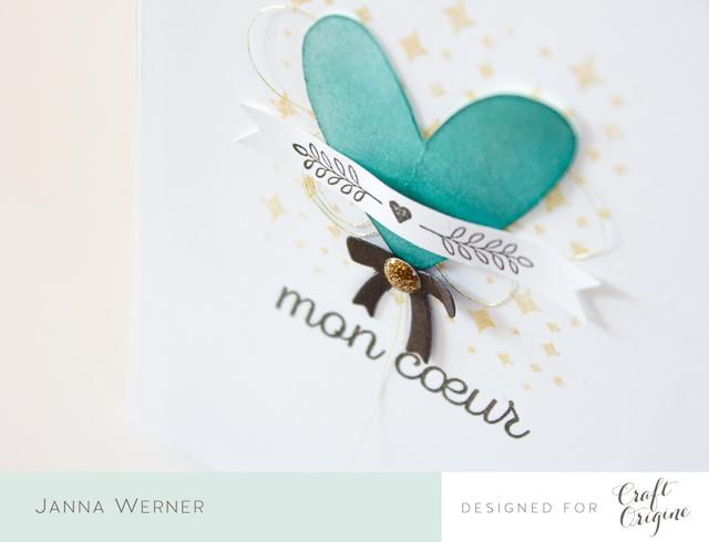 Karten in Blau, Weiß & Braun | Craft Origine | Janna Werner