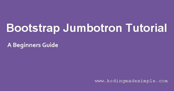twitter bootstrap jumbotron tutorial background image