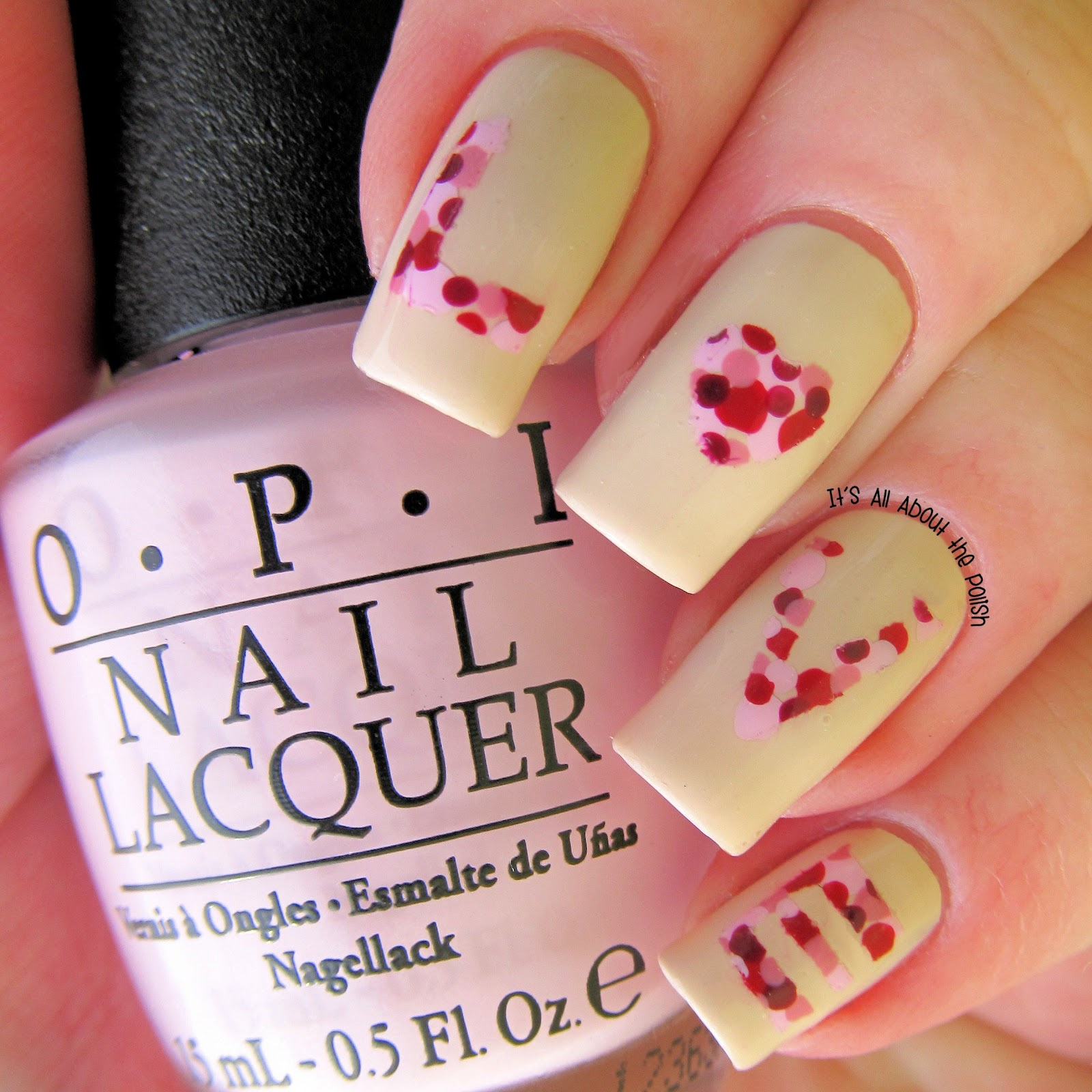 It\'s all about the polish: L-O-V-E Valentine\'s Day Nail Art
