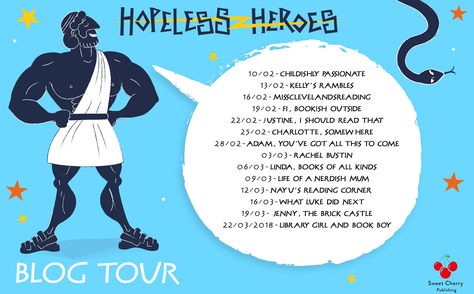 Hopeless Heroes Blog Tour