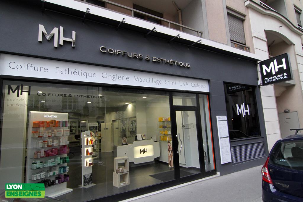 Lyon enseignes blog mh coiffure et esth tique for Salon de coiffure lyon 7