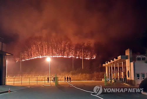 Incendio en la DMZ entre Corea del Sur y Corea del Norte