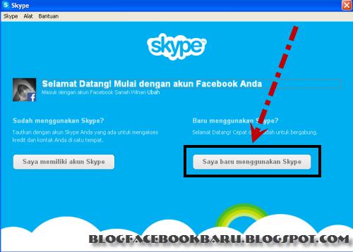 cara membuat skype