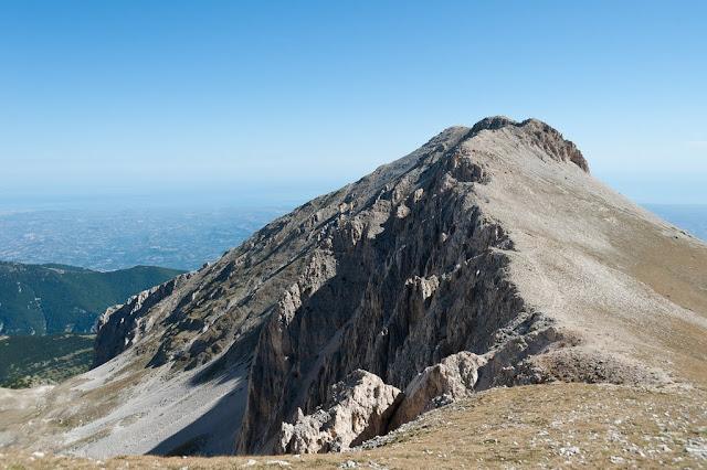 Cresta sud-ovest della cima delle Murelle