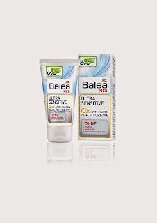 Balea Ultra Sensitive Q10 Anti-Falten-Nachtcreme - ww.annitschkasblog.de