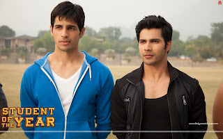 Student Of The Year HD Wallpaper, Varun Dhawan, Sidharth Malhotra