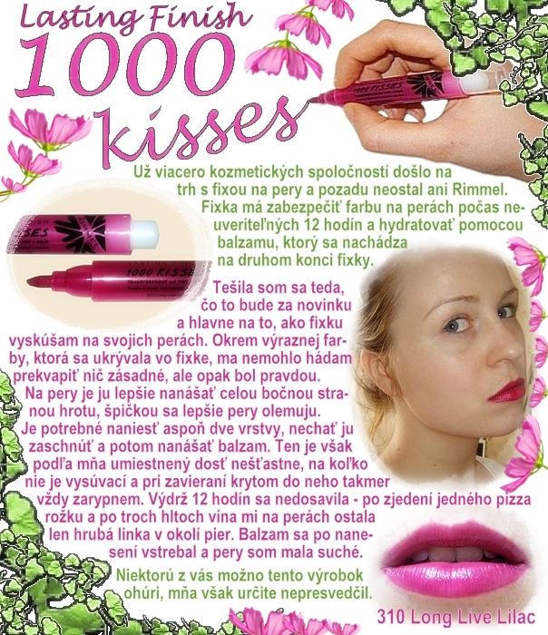 Lasting Finish 1000 kisses