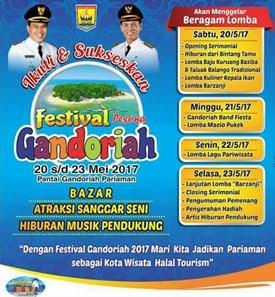 Festival Gandoriah 2017