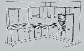 Dise o en cocinas integrales distribuci n integral en la for Planos para hacer una cocina integral