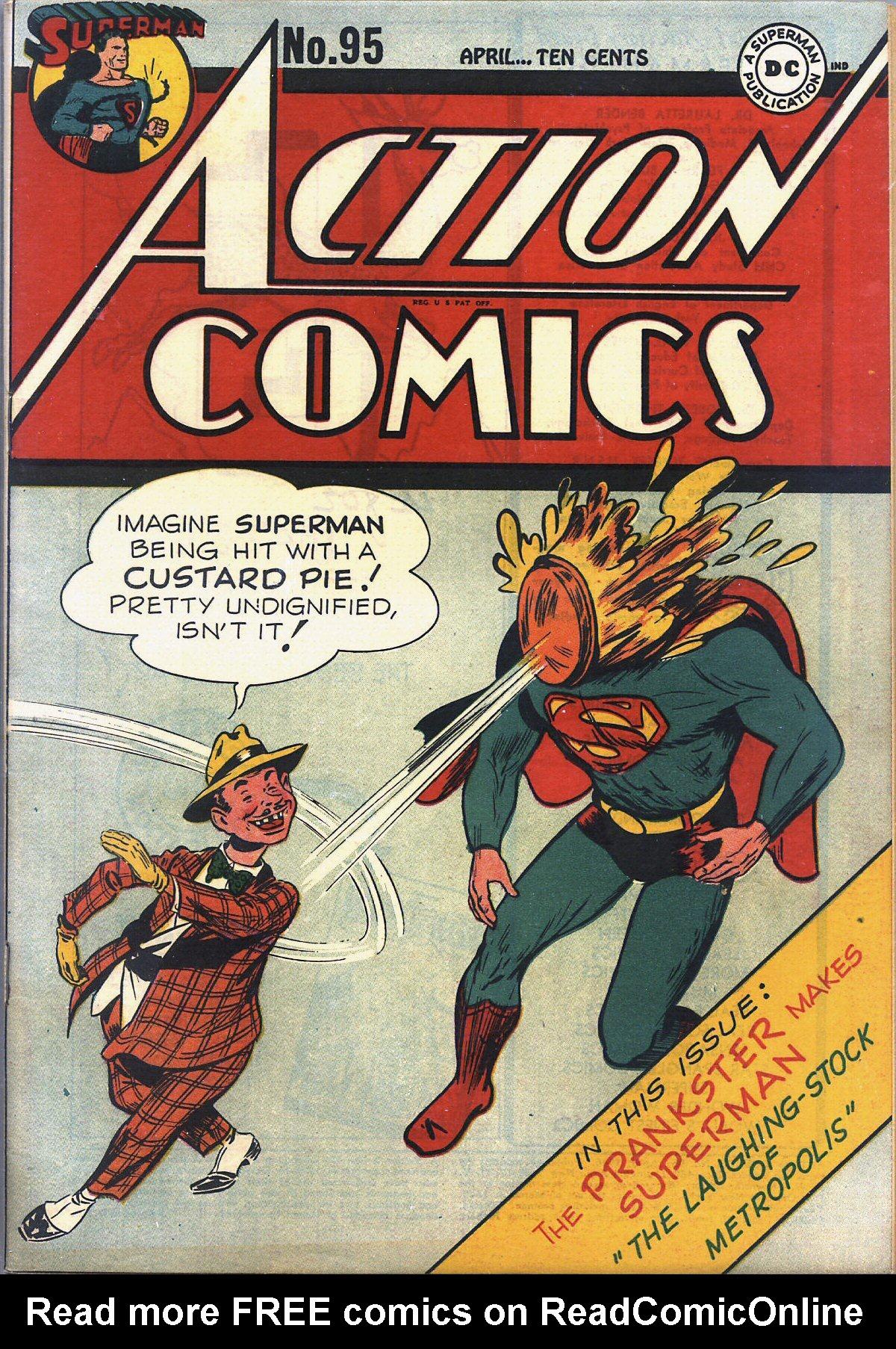 Action Comics (1938) 95 Page 1