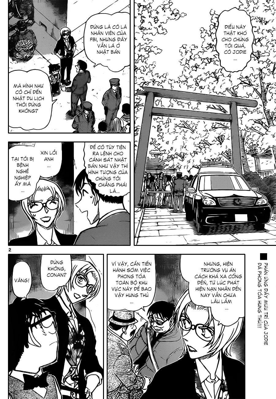 Detective Conan - Thám Tử Lừng Danh Conan chap 851 page 3 - IZTruyenTranh.com