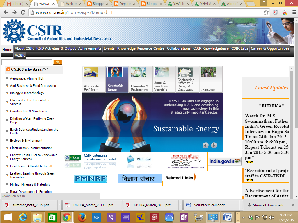 CSIR labs
