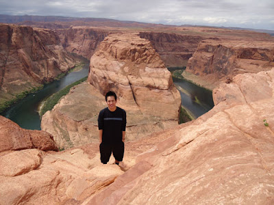 Larry at Horseshoe Bend