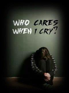 the world of sadness who cares when i cry