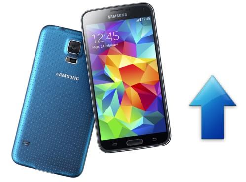 Samsung nuovo firmware con miglioramenti prestazionali su Galaxy S5