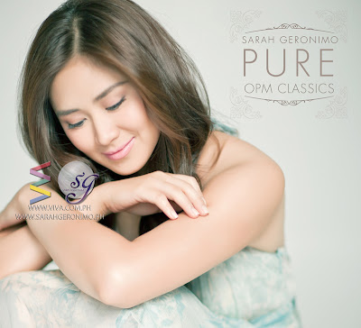 Sarah Geronimo Pure OPM Classics Album Cover