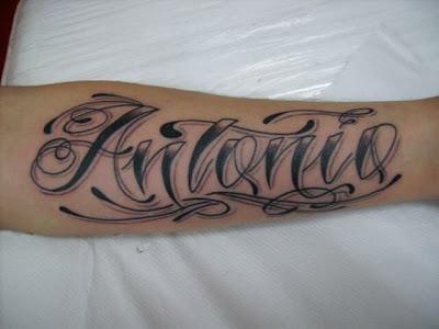 Imagens e Fotos de Tattoos com Nome