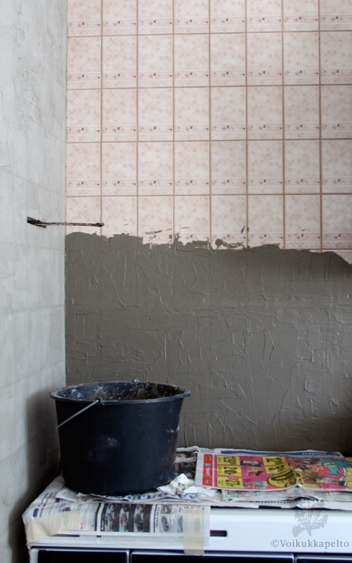 Laatoitus vanhan laatan päälle keittiö – Talo kaunis rakennuksen julkisivuun