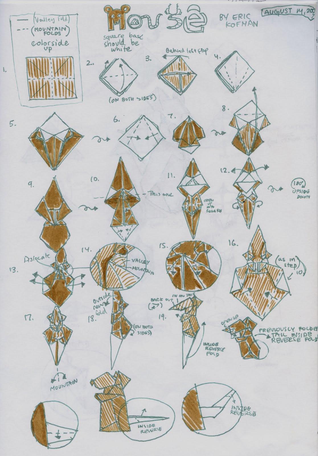 Elephant Dollar Origami Pdf 1239230