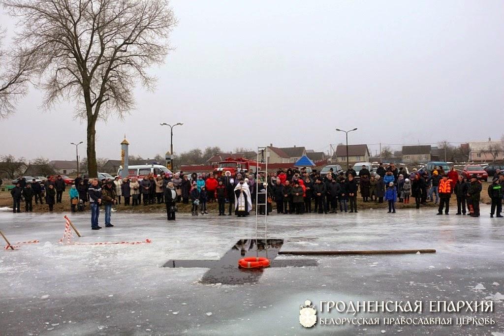 19.01.2015 озеро Вороново на крещение