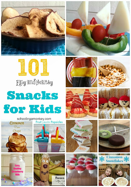 healthy snack ideas for children kids