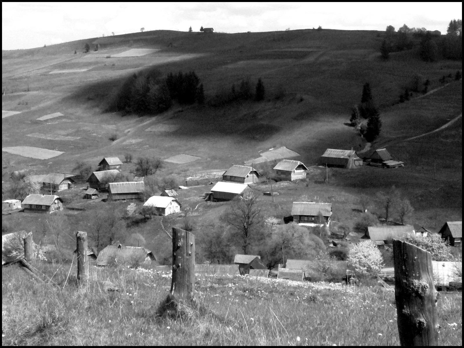 Карпатское село, деревня