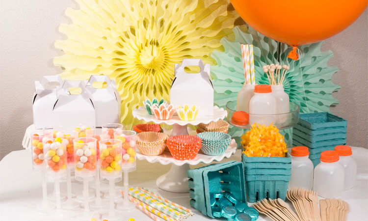 cupcake cup,straw, party supplies, party shop