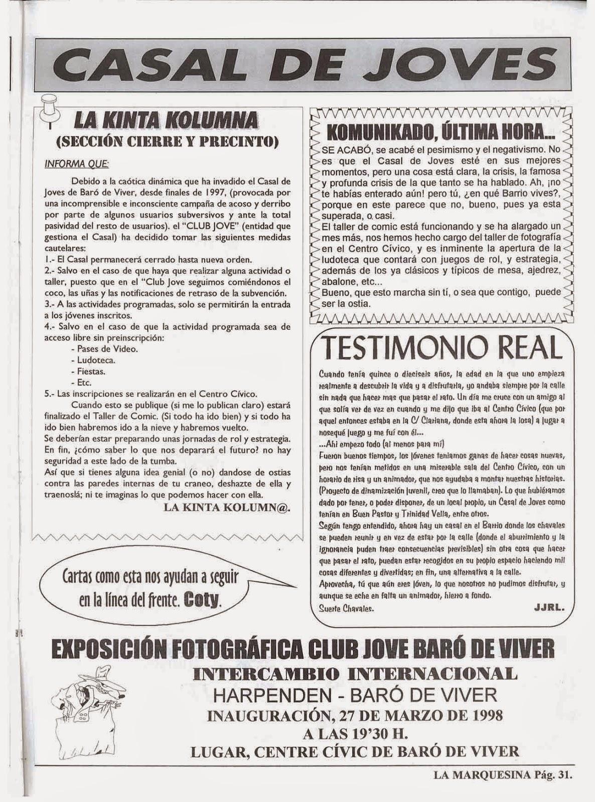 CLUB JOVE BARÓ DE VIVER