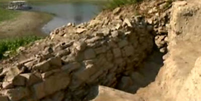 Dry spell reveals 7,000-year-old defense wall in Bulgaria
