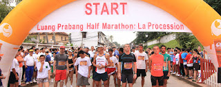 Luangprabang Marathon race picture