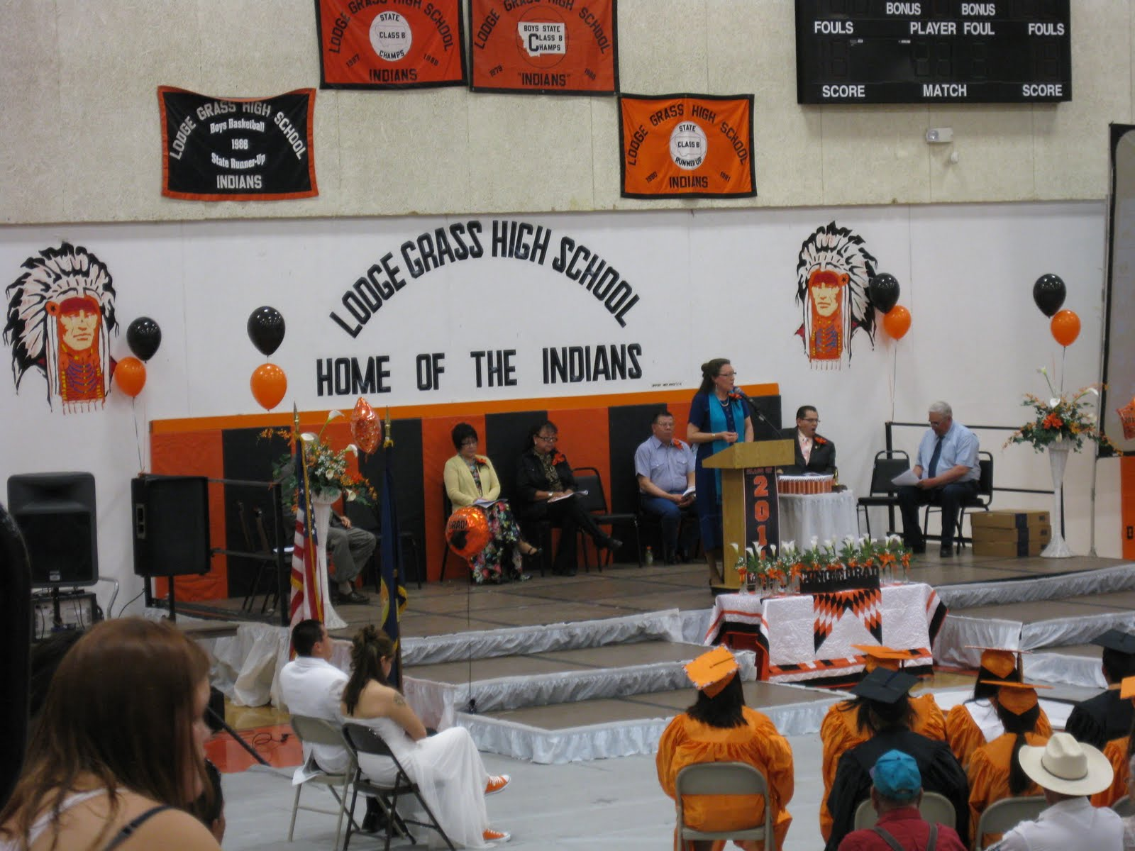 museum interns at little big horn lodge grass high school graduation aimee here one of the first things i got to do after i arrived was attend the lodge grass high school graduation here on the crow reservation
