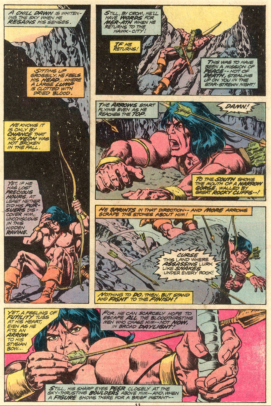 Conan the Barbarian (1970) Issue #79 #91 - English 8