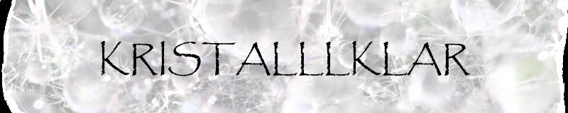 Kristalllklar
