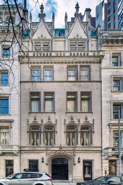 New york city woolworth mansion for sale for Manhattan townhouse for sale