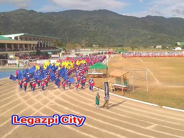 Palarong Bicol 2014 Legazpi City Delegation