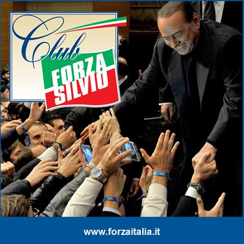 Roma,8 Dicembre 2013, prima manifestazione CLUB FORZA SILVIO
