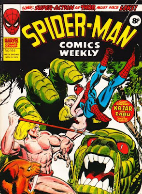 Spider-Man Comics Weekly #144, Ka-Zar and Gog