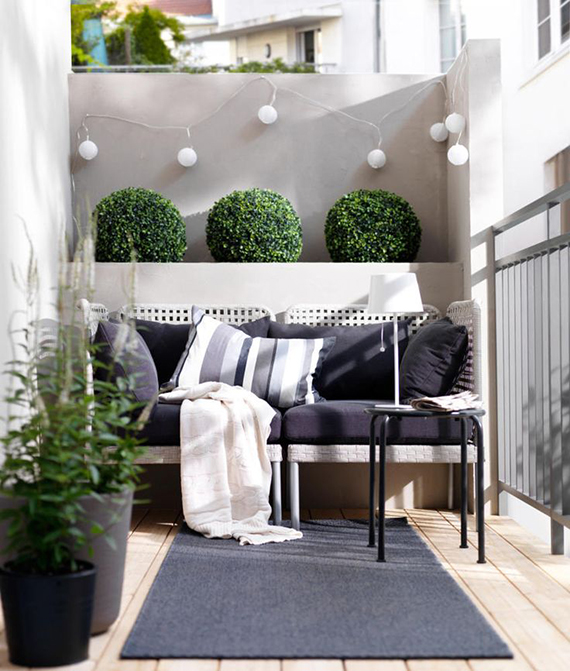 5 simple tips to cozy up your outdoors for fall | Image via Ikea.