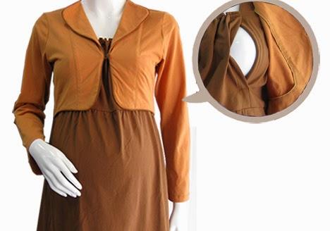baju hamil kerja muslimah