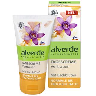 Preview: alverde Bachblüten-Serie - Tagescreme Vertrauen - www.annitschkasblog.de