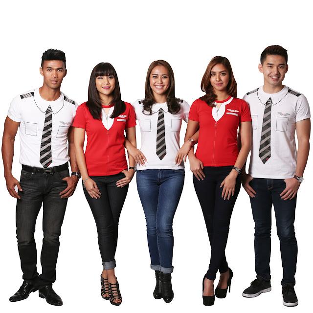 AirAsiaMAKNA T-shirts