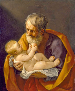 Joseph and the Christ Child by Guido Reni [Public domain or Public domain], via Wikimedia Commons