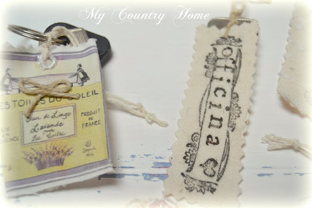 MY COUNTRY HOME: Portachiavi Shabby